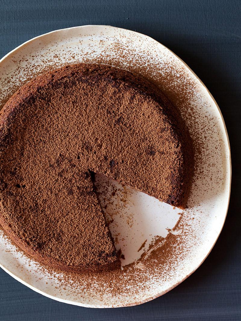 Amaretti Chocolate Cake