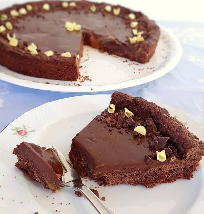 Chocolate Fairy-tale Tart