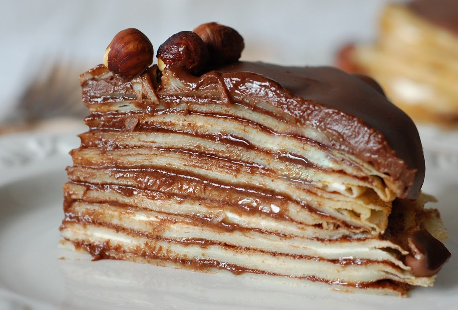 Simple Secrets for Decadent Dessert: Nutella Crepe Cake