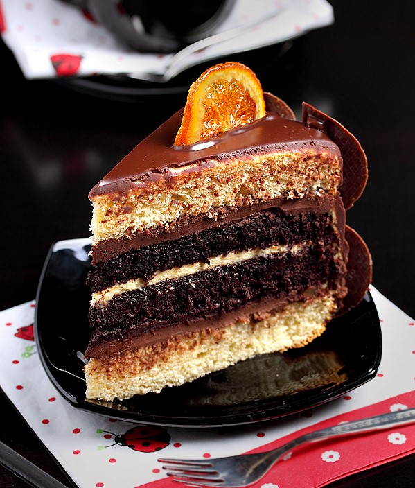Decadent Chocolate Orange Layer Cake